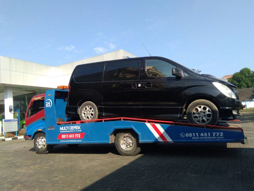 towing gendong mobil